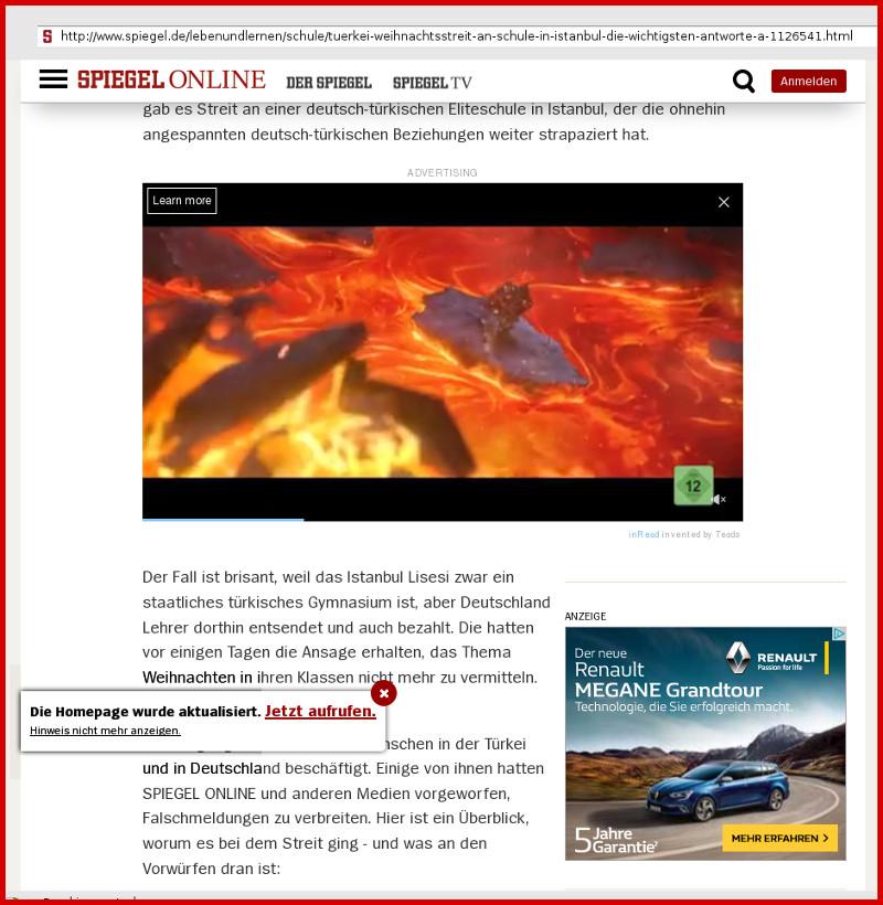 SPIEGEL: Sabotage in Web-Seiten