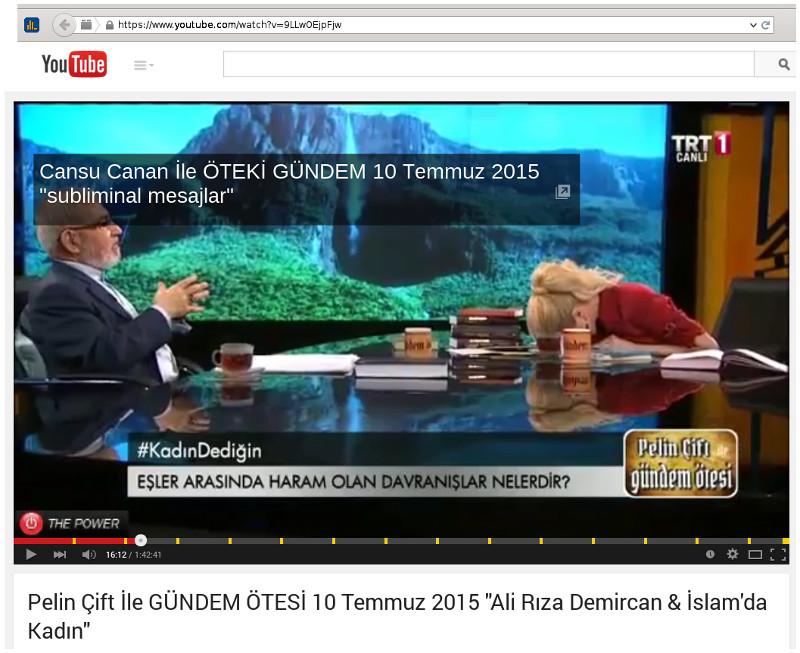 Ali Riza Demirkan zu Gast bei Pelin Çift