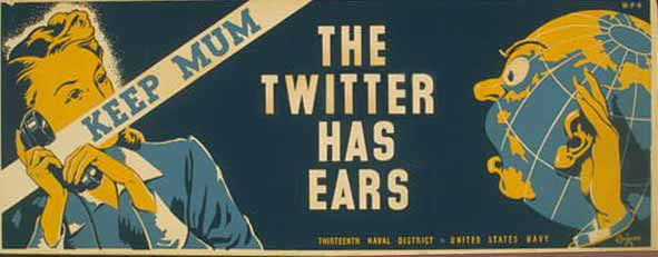 Mum, keep your mouth shut! - The Twitter has ears!